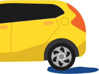 car-yellow-two