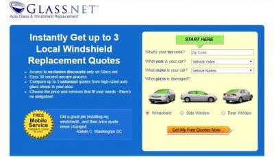Windshield Price Quote GlassNET