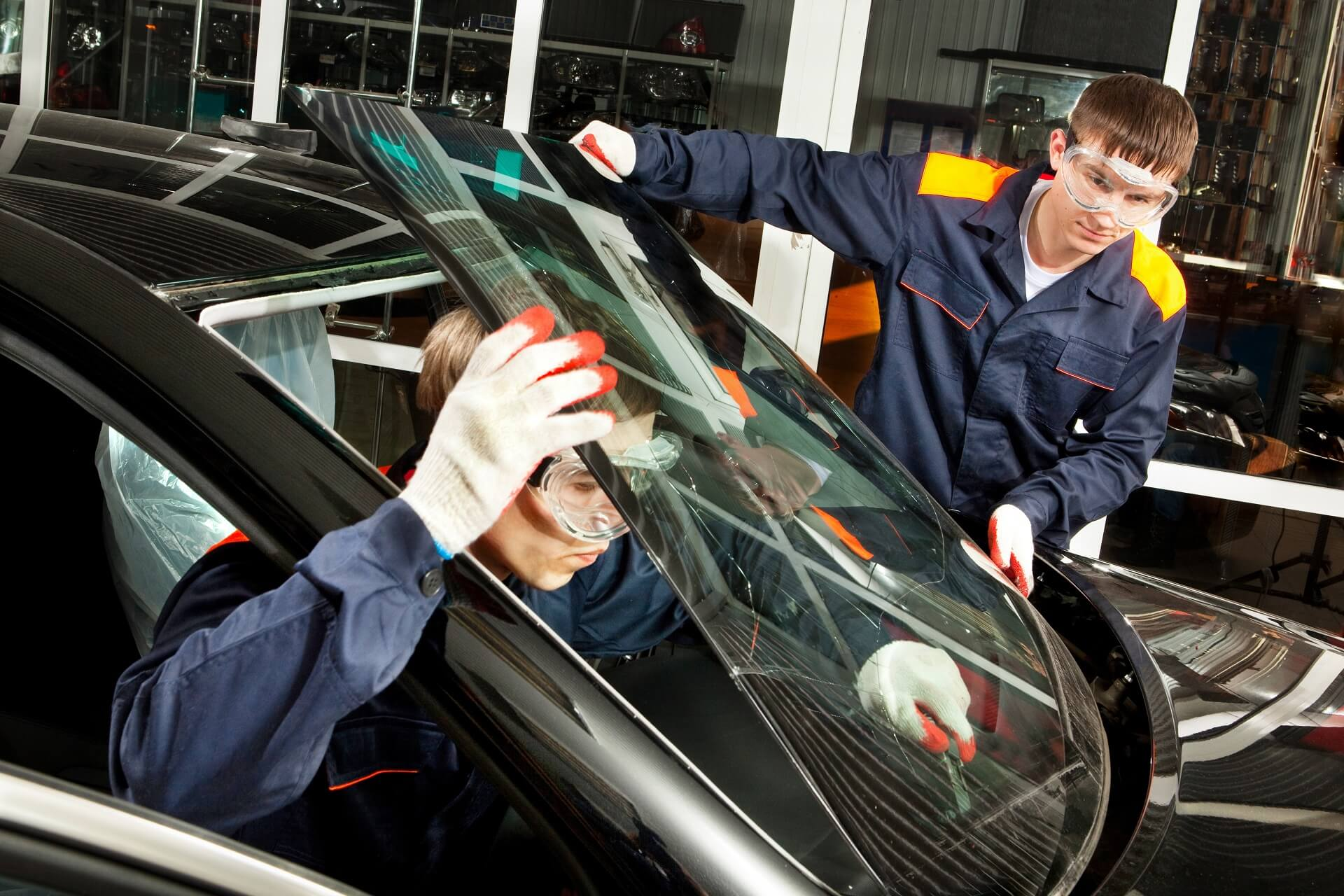 Auto Glass Repair Window