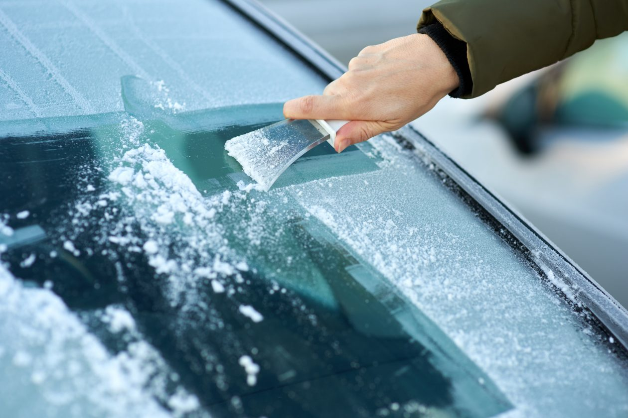 prevent ice on windshield